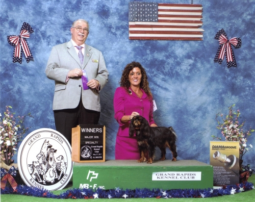 English Toy Spaniel Club of America specialty show. 5 point major.