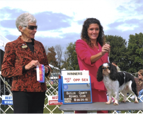 Lily's newest win under judge Janet Leslie Buchanan